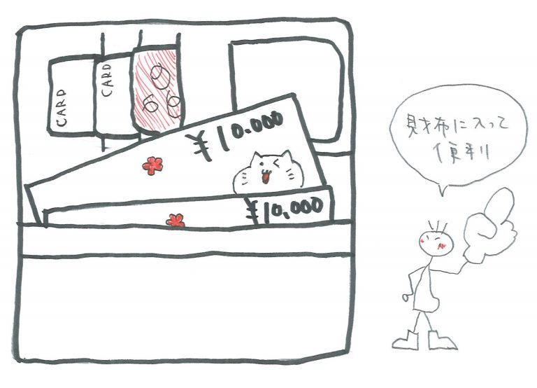 商品券 のサイズ